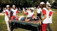 MDA First Aid Training in Nehalim