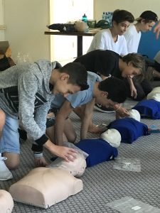 MDA Launches First Aid Training for Youth