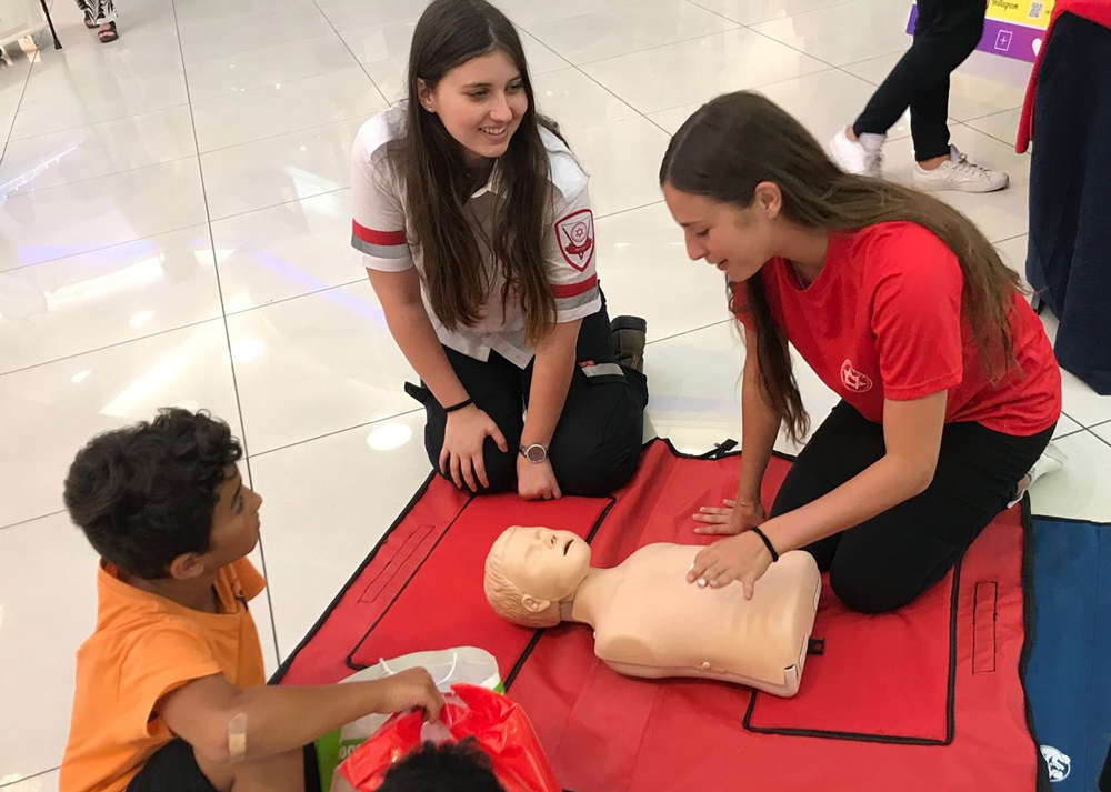 Free First Aid training for members